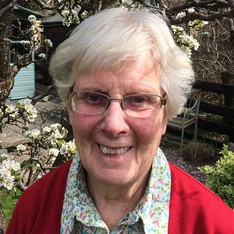 Ann Redmayne President of UCH London Nurses' Charity