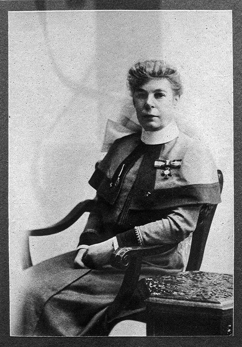 Miss Dora Finch founder of The UCH Nurses League