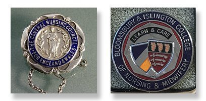 UCH Nurses' badges