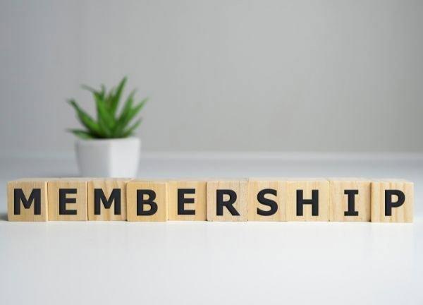 Membership renewal due